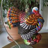 Turkey Christmas Tree Ornament