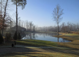 Foggy Morning at the Pond