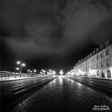 Bordeaux at night