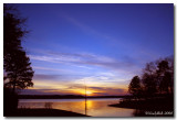 Sunset January 25 *