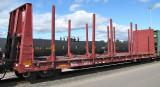 MRL 62000 series Log Cars (15 photos)