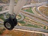 landing on Athens