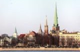Skyline of the old city
