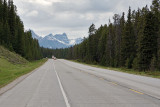 On Hiway 1 between Lake Louise and Banff