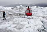 Yanert Glacier Helicopter Landing