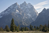 Teewinot Mountain, Grand Teton, Mount Owen and Mount St John