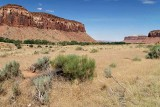 On Hiway 211, approaching The Needles section of Canyonlands