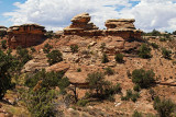 Big Spring Canyon, in The Needles section of Canyonlands