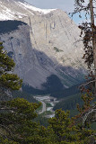 The Icefields Parkway, below the Weeping Wall