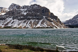 Crowfoot Mountain and Bow Lake