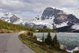 Bow Peak and Bow Lake