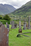Cemetery, west of Shiel Bridge