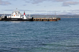 The Armadale-Mallaig ferry, docked in Mallaig