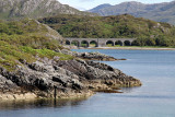 Railway bridge at the head of Loch Nan Uamh