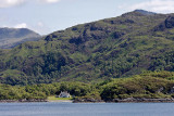 Lochside living, on Loch Nan Uamh