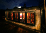 Moon Rising on the Lake Front Cabin.jpg