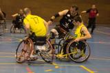 Basket sobre ruedas