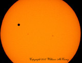 Venus and the Sun Spots