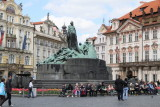 Jan Hus Monument-Old Town Square