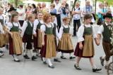 Girls in parade