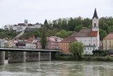 View across the Inn river in Passau
