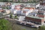 Viking Odin docked in Passau