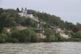Cruise leaving Passau