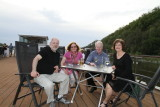 Sid and Sharon with us on top deck