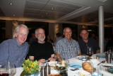 The guys at dinner