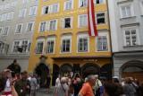 Wolfgang Mozarts birthplace-Salzburg
