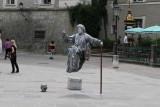 Salzburg street entertainer