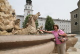 Jane at Residence Fountain (1660)-seen in Sound of Music