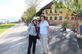 Sharon and Jane in Melk