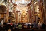 Melk Abbey's Baroque Benedictine church