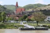 Weissenkirchen-Assumption church in wine growing village