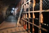 Wine stored underground