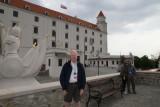 Mike at Bratislava castle