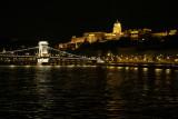 Chain Bridge and Buda Castle on the hill