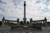 Millennium Monument in Heroes Square