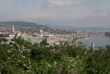 Buda Castle palace and the Danube