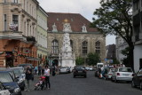 Holy Trinity Column in Trinity Square
