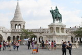 King St. Stephen statue in Fisherman's Bastion