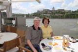 Lunch on the Odin in Budapest