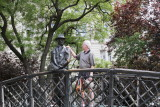 Man on the Bridge statue-Imre Nagy was nominated to be Prime Minister but was arrested by the Soviets in 1956