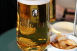 Bitburger on tap in the Odin lounge