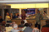 Hungarian entertainers on board