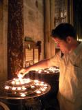We lit candles in every cathedral in Europe we went into - for so many of our friends and aquaintances suffering from cancer
