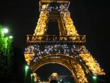 Finally, a nighttime excursion to see La Tour Eiffel twinkling!