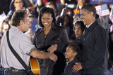 Bruce Springsteen and the Obama's