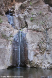 The huge waterfall at the end of the hiking track
